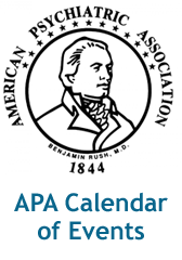 APA Calendar of Events