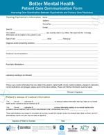 Patient Care Form