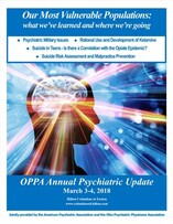 Front Page Brochure Cover Psychiatric Update 2018